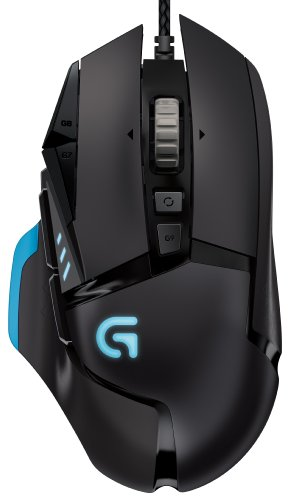 Get Logitech G502 Proteus Core Tunable Gaming Mouse with Fully Customizable Surface, Weight and Balance Tuning (910-004074)