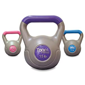 Tone Fitness Cement Filled Kettlebell Set – 30 lbs Review