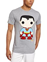 DC Comics Men's Funko Superman Heather Tee