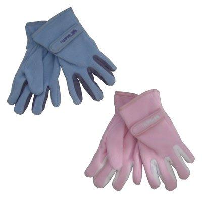 Trespass Girls Fleece Glove (blue/lilac)