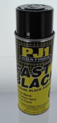 PJ1/VHT - Fast Black Porcelain Hard EPOXY Paint 11oz 16-GLS 16-GLS PU