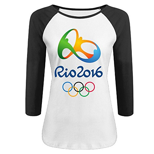 2016 Summer Olympics 3/4 Sleeve Baseball T Shirt
