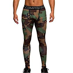 Imported Men Exercise Legging Running Tight Trousers Sport Pants Multicolor XL