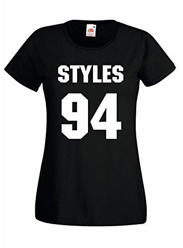 Settantallora - T-shirt Maglietta donna J857 Harry Styles 94 Taglia L