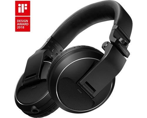 Pioneer Pro DJ Black (HDJ-X5-K Professional DJ Headphone) (Color: Black)