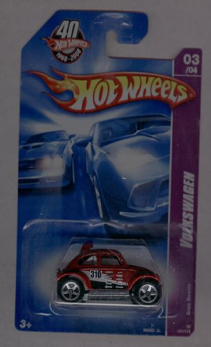 Hot Wheels 40 Years 2008-131/172 Baja Beetle Volkswagen 03/04 1:64 Scale - 1