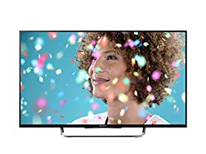 Sony KDL32W705B 32-inch Widescreen Full HD 1080p Smart TV with Freeview - Black