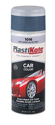 PlastiKote 1016 GM Dark Blue Metallic Automotive Touch-Up Paint - 11 oz. (Dark Blue Touch Up Car Paint compare prices)