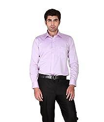 GIVO Classic Mauve Solid Formal Shirt