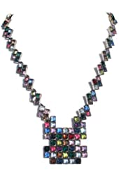 Sex and the City Multi Stone Necklace
