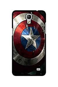 Caseque Captain America Shield Back Shell Case Cover For Samsung Galaxy Mega 2