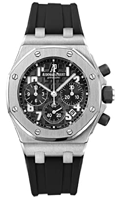 Audemars Piguet Royal Oak Offshorel Chronograph Black Dia Mens Watch 26283ST.OO.D002CA.01