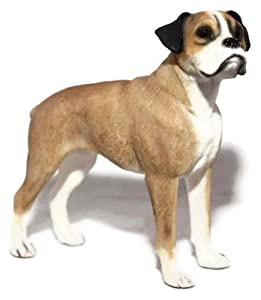 Light Brown Boxer Dog Ornament: Amazon.co.uk: Kitchen & Home