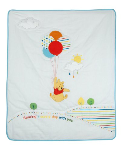 Disney Pooh Sunny Day Quilt front-312124