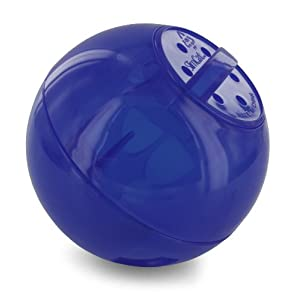 PetSafe SlimCat Food Distributor Ball, Blue