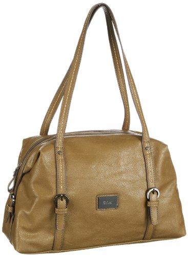 Gabor Tilda Handbag Womens Green Grün (khaki 35) Size: 37x22x14 cm (B x H x T)