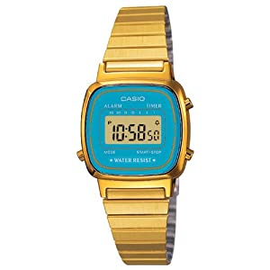 Casio Ladies Bracelet Digital Watch La670Wega-2Ef