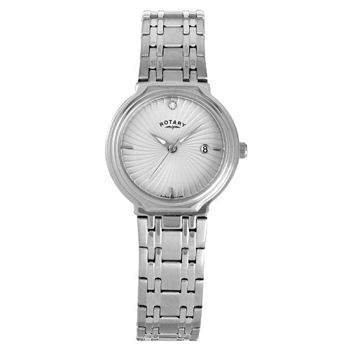 Rotary Ladies Steel Bracelet Watch LB30003/06