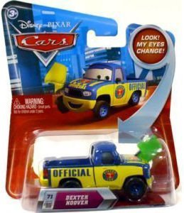 Disney / Pixar CARS Movie 155 Die Cast Car with Lenticular Eyes Series 2 Dexter Hoover