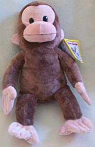 "15"" Plush Curious George Doll Toy"