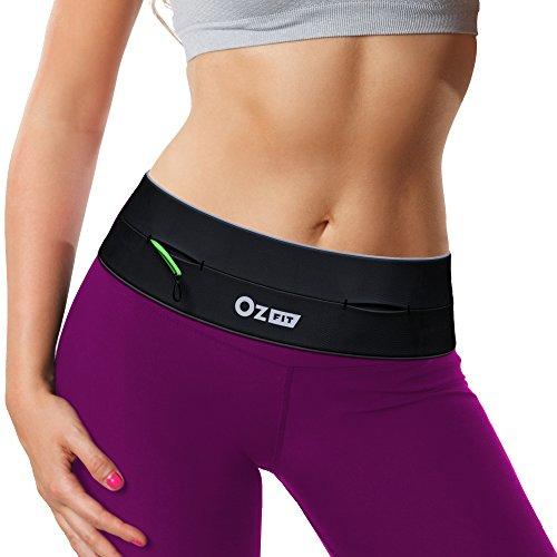 Running Fitness Belt with Zipper Runner Waist Pack