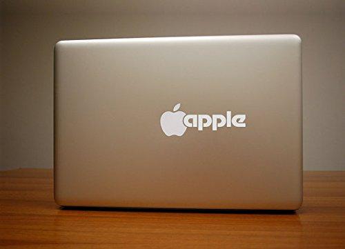 Macbook Air Macbook Pro ステッカー スキンシール クラシック Apple ロゴ テキスト Classic Text M553