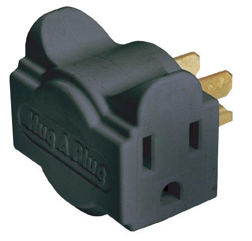 Ziotek Zt1120131 Hc1 Black Liberator Dual Outlet Wall Adapter, 2 Pack