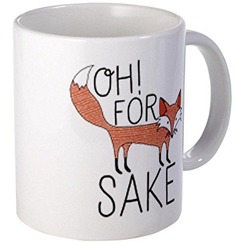 Cafepress Oh For Fox Sake Mugs - S White