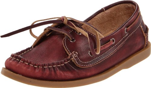 BED:STU Women's Aunt Bettie Boat Shoe,Merlot,8 M US
