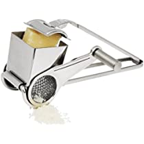 Winco Rotary Cheese Grater with Fine Grating Drum