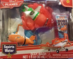 Disney Planes Tub Time Friends Body Wash Set