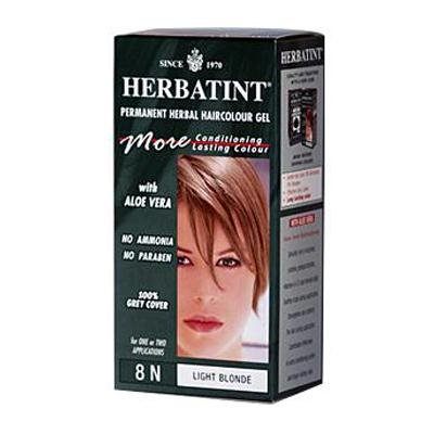 Herbatint Permanent Herbal Haircolour Gel 8N