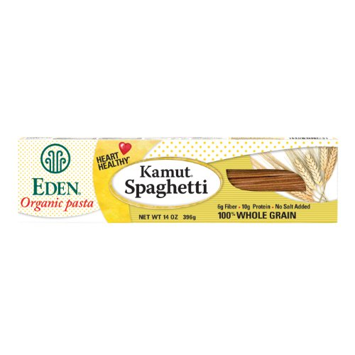Eden Organic Kamut Spaghetti, 14-Ounce Boxes (Pack of 12)