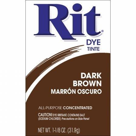 Rit Dye 25 Rit Powder Dye, Dark Brown (6 Pack) by Rit Dye (Rit Dye Chocolate compare prices)