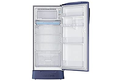 Samsung RR19J2835PX Direct-cool Single-door Refrigerator (192 Ltrs, 5 Star Rating, Orcherry Pebble Blue)