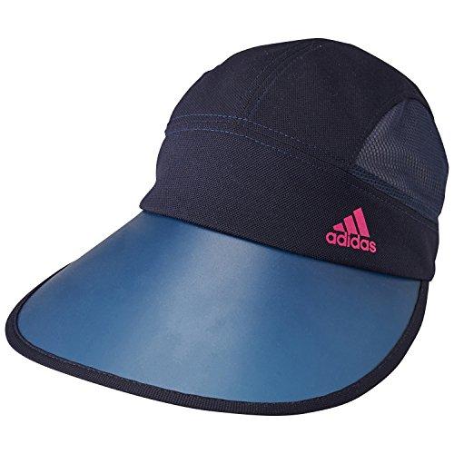 (アディダス)ADIDAS UV キャップ KBN56 A95550 カレッジネイビー/ピンク OSFZ