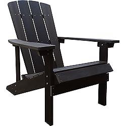 Composite Foldable Adirondack Chair - Chocolate