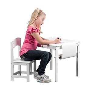 Berman Kids Art Desk Set - White from Berman Industries Inc