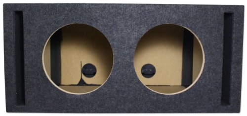 Atrend 10Dv1.75 Dual 10-Inch Vented Subwoofer Enclosure Box