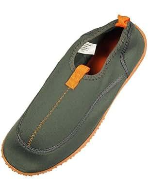 Panama Jack - Mens Aqua Sock, Grey, Orange 34393-8D(M)US