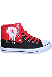 NEW STYLE!! High Top Fold Down Canvas Women Sneakers Best Seller