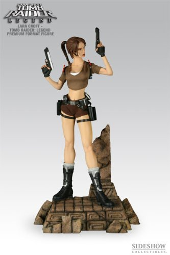 Picture of Sideshow Tomb Raider Legend: Lara Croft Premium Format 1/4 Scale Polystone Figure (B001FRS5YA) (Sideshow Action Figures)