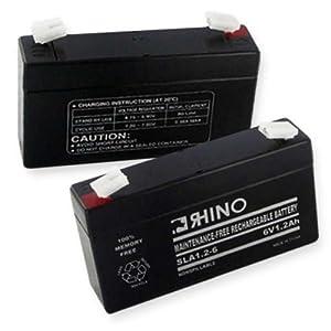 6 VOLT 1.2 Ah BATTERY-Battery
