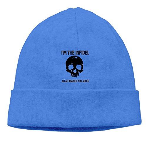 Jirushi Unisex I'm The Infidel Punisher Skull Allah Warned You About Beanie Cap Hat Ski Hat Caps Beanie Cap Hat