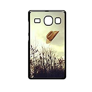 Vibhar printed case back cover for Samsung Galaxy A3 FlyingHat