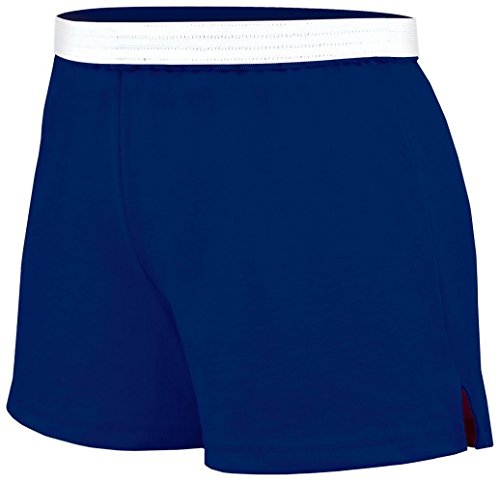 Soffe Juniors Athletic Short, Navy, X-Large