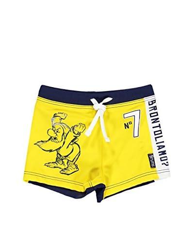 Brums Shorts da Bagno D - Baby [Giallo]
