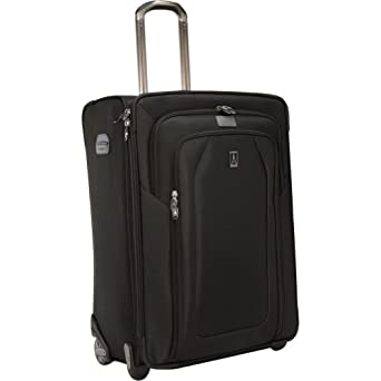 Travelpro Luggage Crew 9 26-Inch Expandable Rollaboard Suiter Bag, Black, One Size