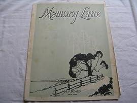 MEMORY LANE LARRY SPIER 1924 SHEET MUSIC FOLDER 396 SHEET MUSIC