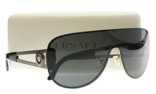 Versace Sunglasses VE 2166 Sunglasses 125287 Pale Gold 41mm